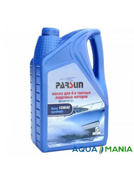 Масло PARSUN 4-х тактне 10W40 напівсинтетика 5 літрів