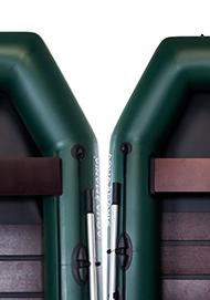 Два варианта сидений (банок)