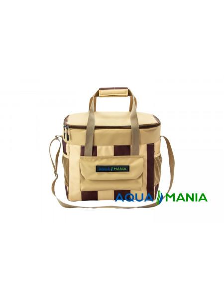 Термо сумка AQUA MANIA (Беж / шоколад)