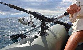 Устаткування для надувних човнів